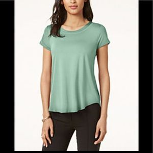 Alfani Satin Trim Tee
